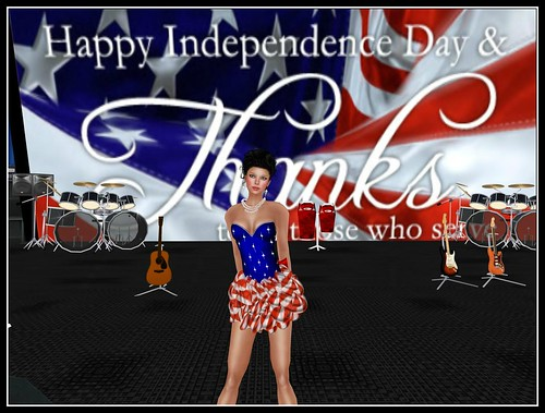 ! Glitterati ! by Sapphire - 4th of July 2012 Dress (free) by Cherokeeh Asteria