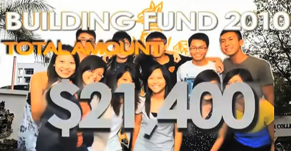 Church building fund raised by this group of youths