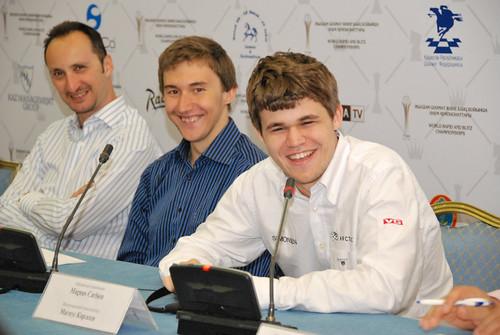Три первых призеры очень довольны