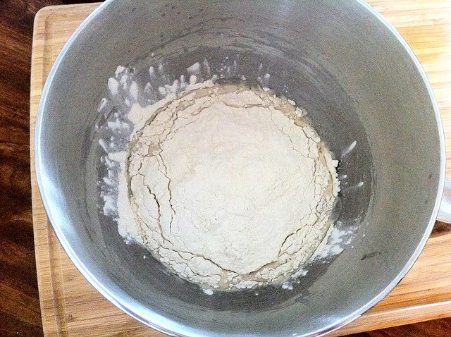 1 Cup of Flour Added to Yeast Water