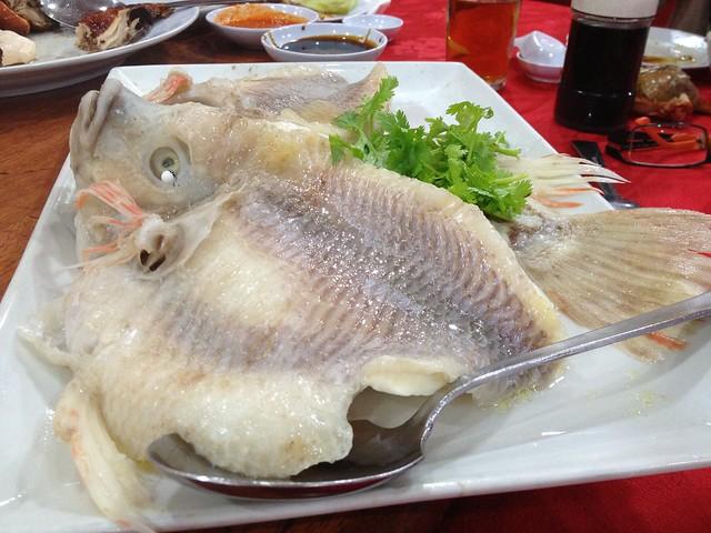 Salt Baked Tilapia