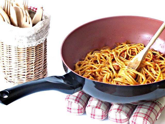Spaghetti (molto) Arrabbiati