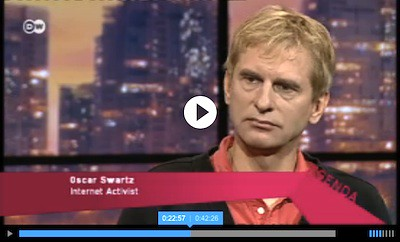 Agenda, Deutsche Welle, July 10, 2012.