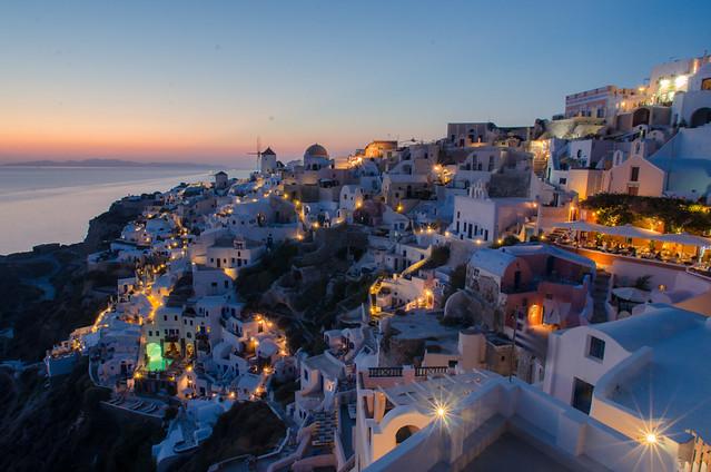 Greece - Oia at, Nikon D7000, AF Nikkor ED 14mm f/2.8D