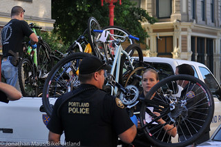 Stolen bikes at drug bust in Old Town-5