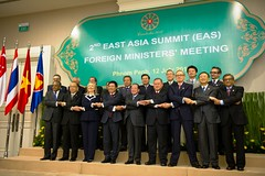 Secretary Clinton Foreign Ministers at the East Asia Summit