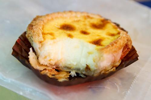 Portuguese egg tart