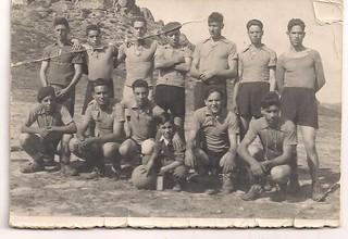 equipa de futebol de parada