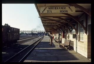 051.  1980-12. De Aar Station, platform 1 - SAR.