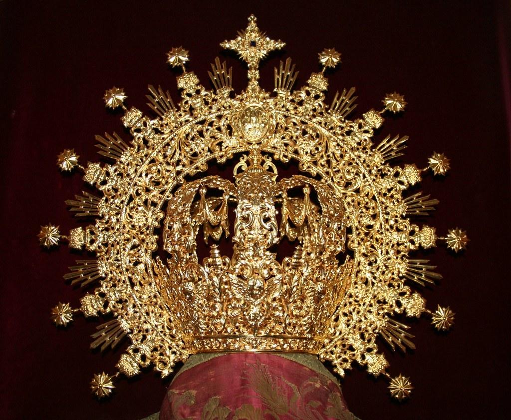 Corona de la Virgen de la Soledad de Chipiona