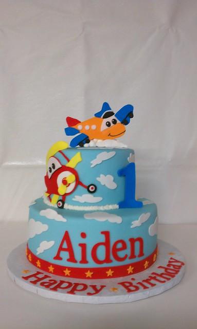 Airplane Adventure Cake Topper