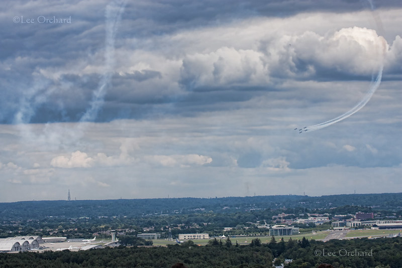 Airshow from the Hill