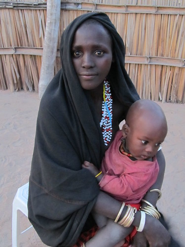 Fatuma and her daughter