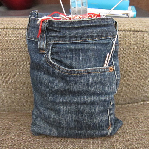 Iron Craft Challenge #14 - Armrest Project Bag