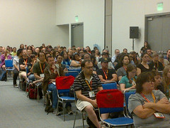 Attendees of the Humor in Sci-Fi & Fantasy Panel, Comic-Con 2012