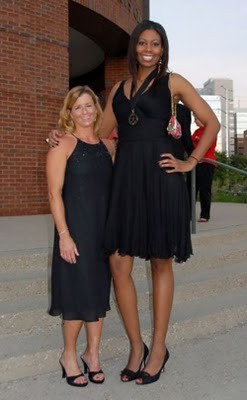 Tall ebony women