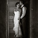 Bride & Groom in Barn