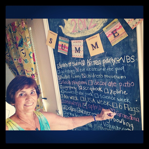 Checking off our summer list. #grandma