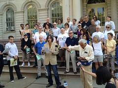 Protestors of N.Y.U. 2031