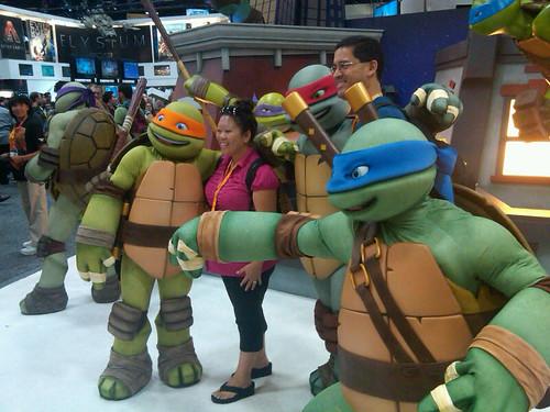 Comic-Con TMNT