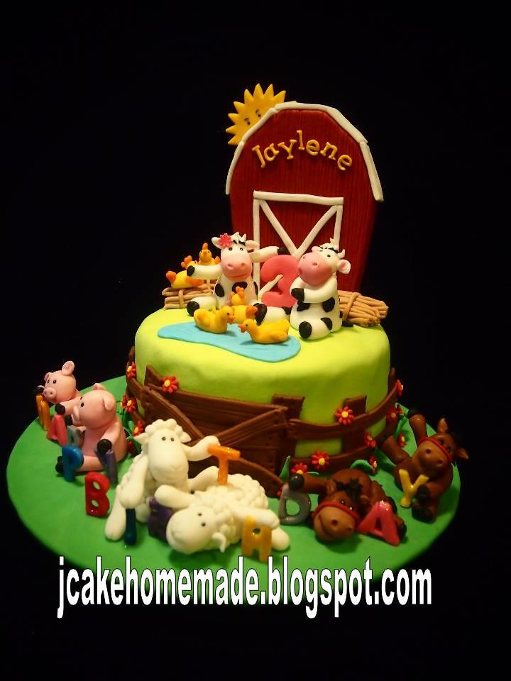 Farm Animals Birthday Cake A Photo On Flickriver