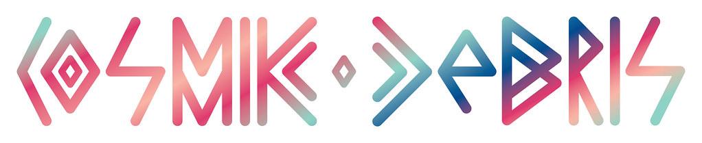Cosmik Debris Logo RGB