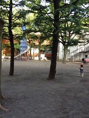 朝散歩 恵比寿公園 (2012/7/19)