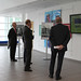 HRH The Duke of Kent watching NPL's Corporate Video