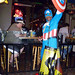 Captain America at bar