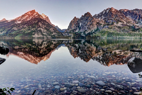 Jenny Lake Sunrise