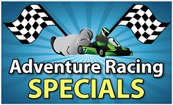 Adventure racing in Lake George Specials