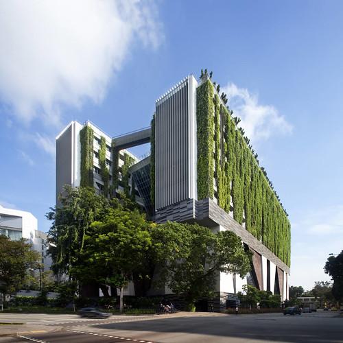 Forgemind archimedia forum woha architects singapore school - Moderne architektur in deutschland ...