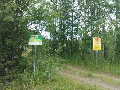 Russian border area
