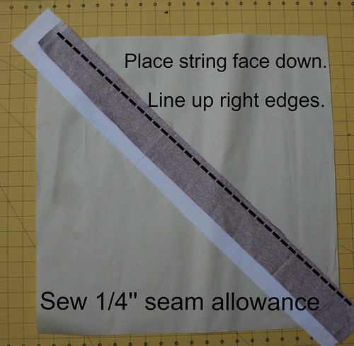 7647610548 23be9b5df0 100 Quilts for Kids QA: Assembling the String Blocks