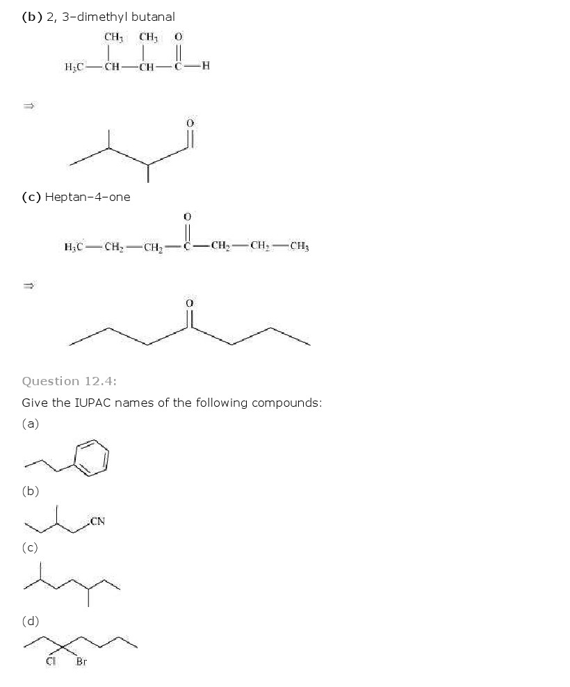NCERT Solutions for Class 11th Chemistry Chapter 12 Organic – Basic Chemistry Worksheet