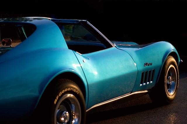 blue vette