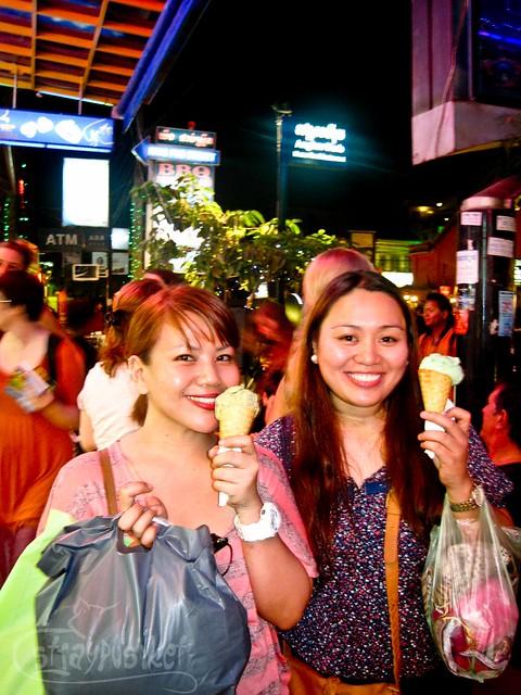 Ice Cream at Siem Reap Night Market