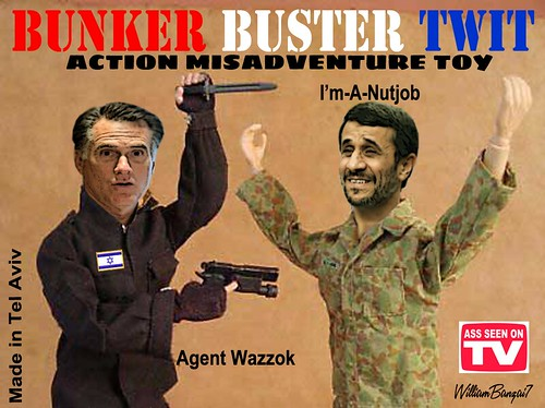 BUNKER BUSTER TWIT by Colonel Flick
