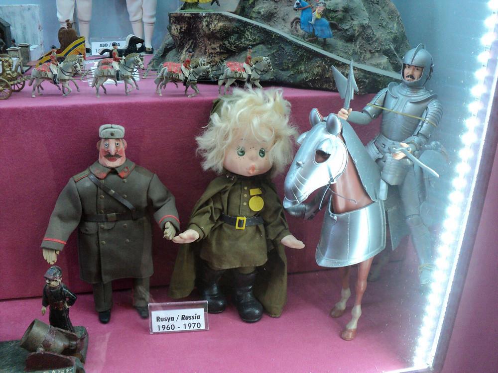Тоже наши игрушки, но они какие-то скорее пост-советские.