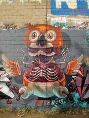 Trellick Tower graffiti, London