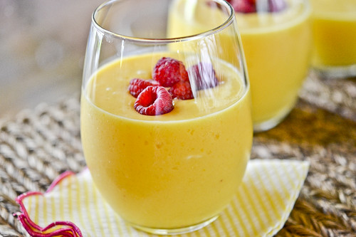 Peach Mango Smoothie 4