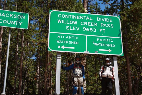 Us at the Continental Divide