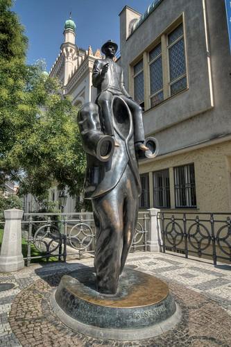 Jaroslav Róna's Franz Kafka Statue