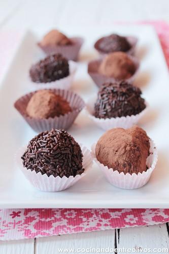 Trufas de chocolate con frutos secos (15)