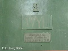 CH-9500 Wil SG Denkmallokomotive Wyl (SLM 462/1887) im Juli 2012