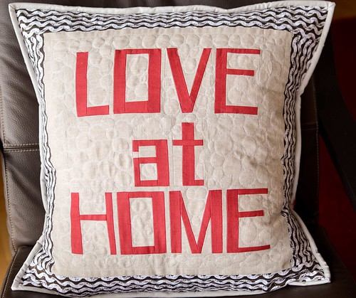 love at home pillow