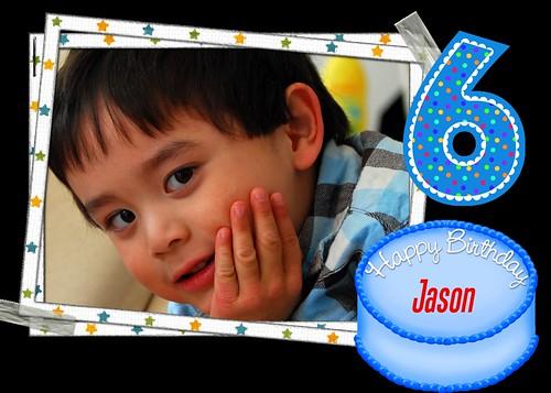 Jason is 6
