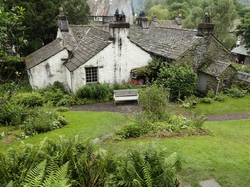 Dove Cottage from the garden