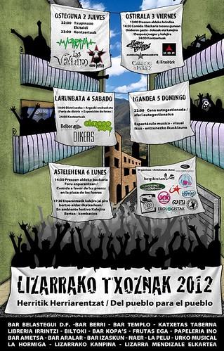 lizarrako txoznak 2012