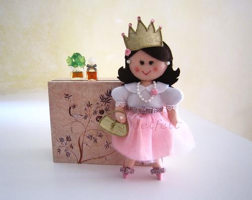 ♥♥♥ A boneca da Lara... by sweetfelt \ ideias em feltro